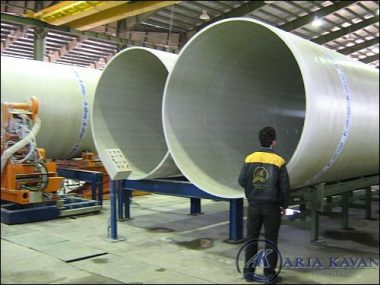 GRP Pipes production in large diameter
